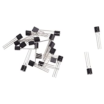 Vaorwne 2N3904 Passanti 3 perni NPN transistor bipolari a 20 Pz