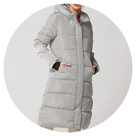 Amazon.com: Summer-lavender Winter Jacket Thick Warm Down Jacket Cotton Coat Down Parkas Long Hooded Coat: Clothing