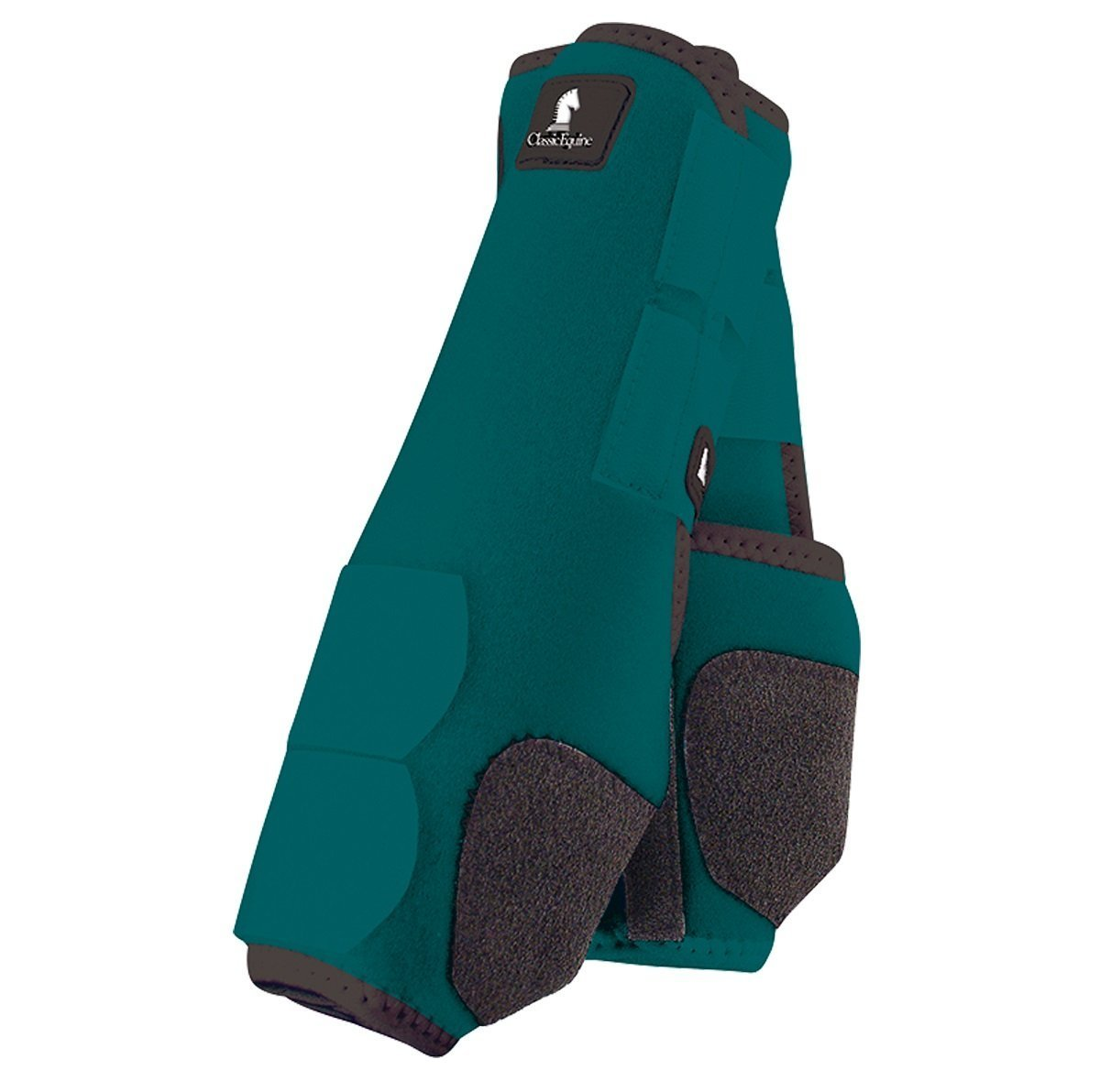 Classic Equine Legacy SMB Boots - HIND Colors (Teal, Medium)