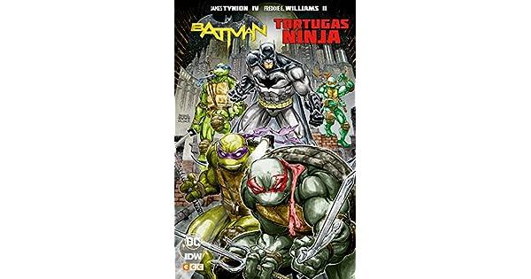 Amazon.com: Batman/Tortugas Ninja (9788417176280): James ...