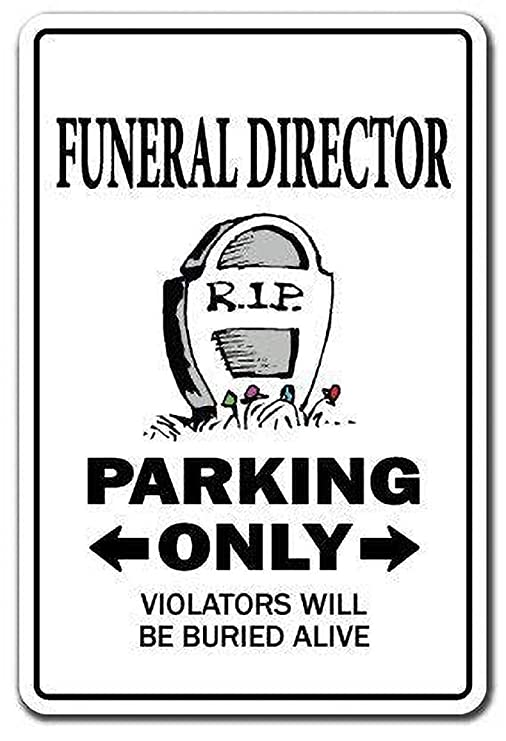 Toddrick Funeral Director Parking Parlor Mortician ...
