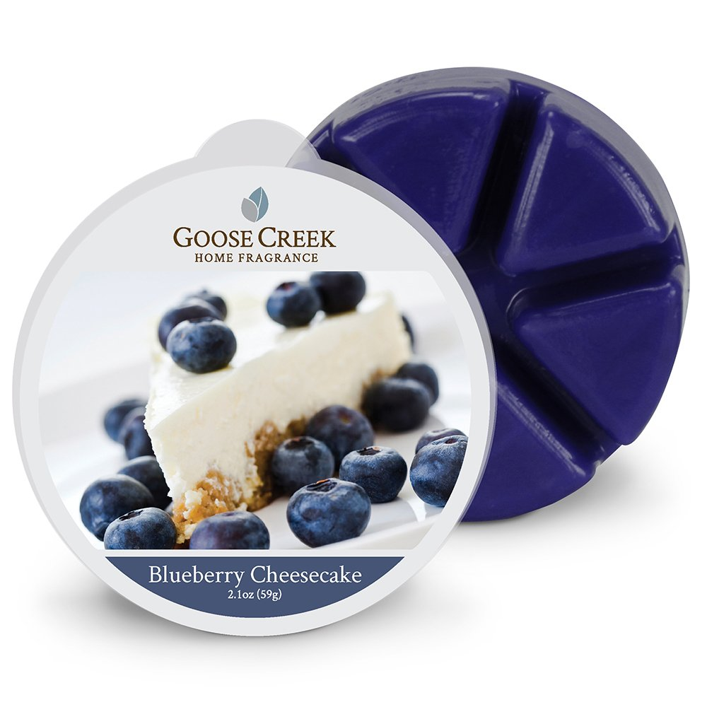 Goose Creek Blueberry Cheesecake Wax Melt Pack, Blue EW06