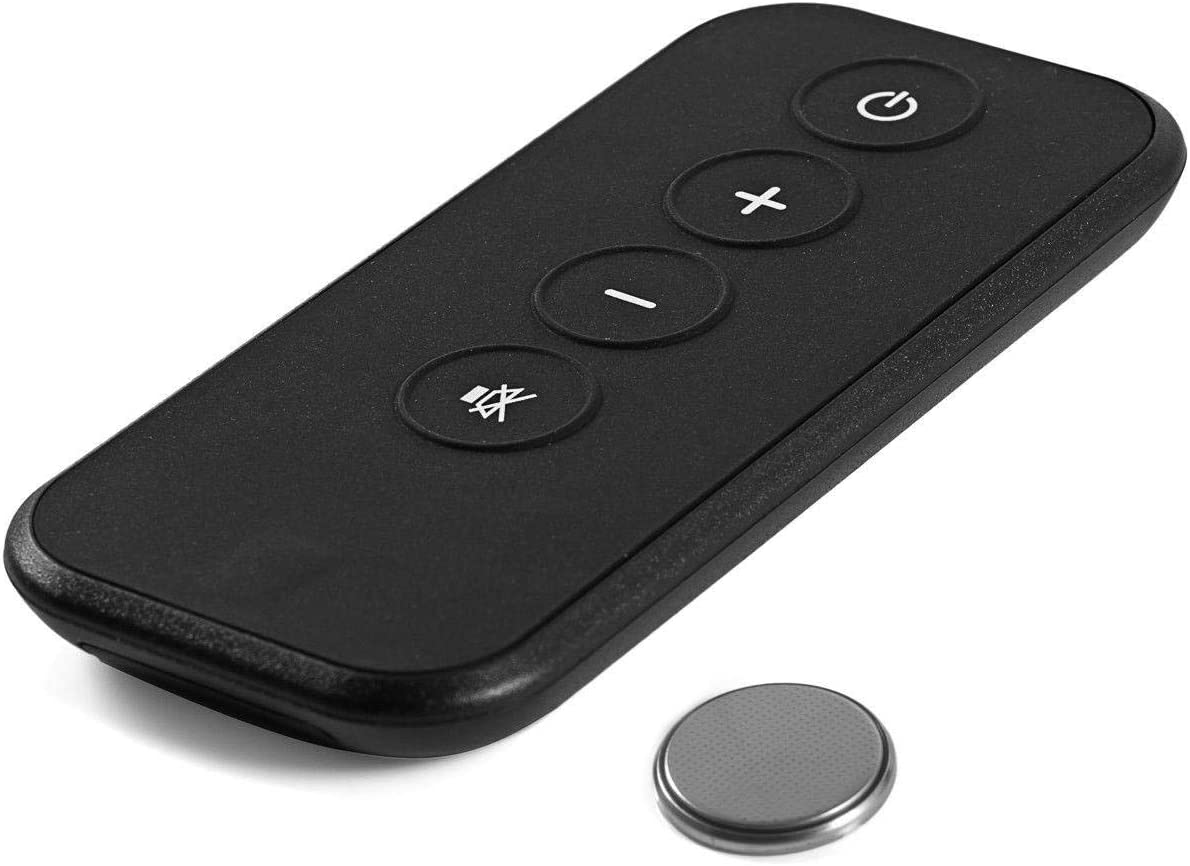 Replacement Remote Control for Bose Solo 5 10 15 Sound Bar, Replace for Bose Solo Cinemate Series II IIGS 1SR 10 & 15 Remote with CR2025 Battery