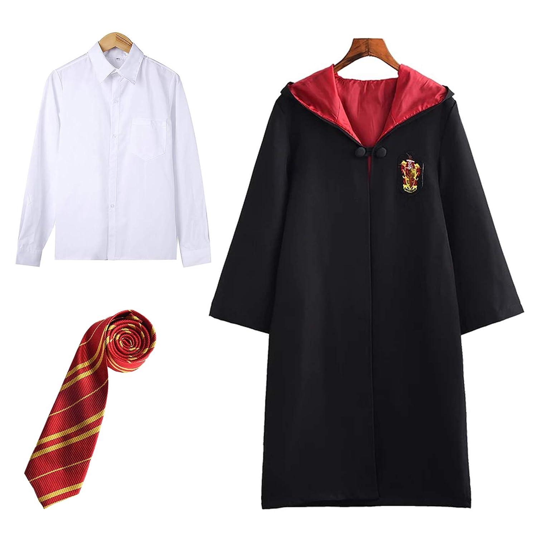 FStory & Winyee Disfraz de Harry Potter para niños y adultos, capa ...
