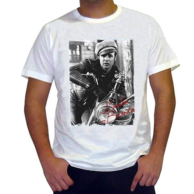 76f716bfd5f Image Unavailable. Image not available for. Color  Marlon Brando  Men s T- shirt ...