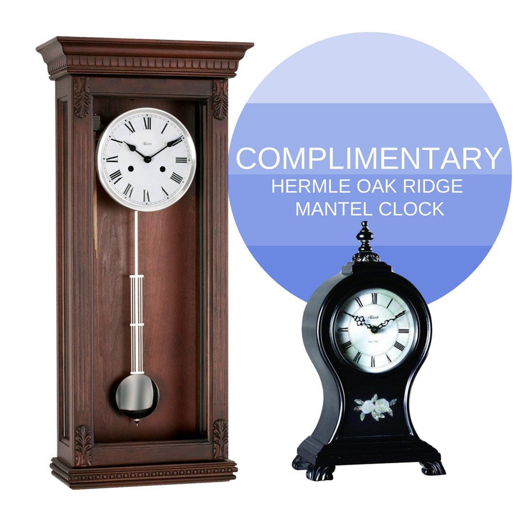 Amazon Hermle Chatham 70802n92214 Clock Home Kitchen