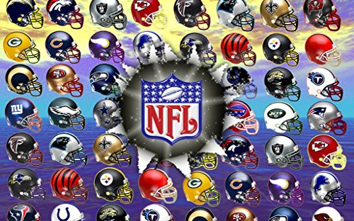 XXW Artwork NFL National Football League Poster Prints Wall Decor Wallpaper