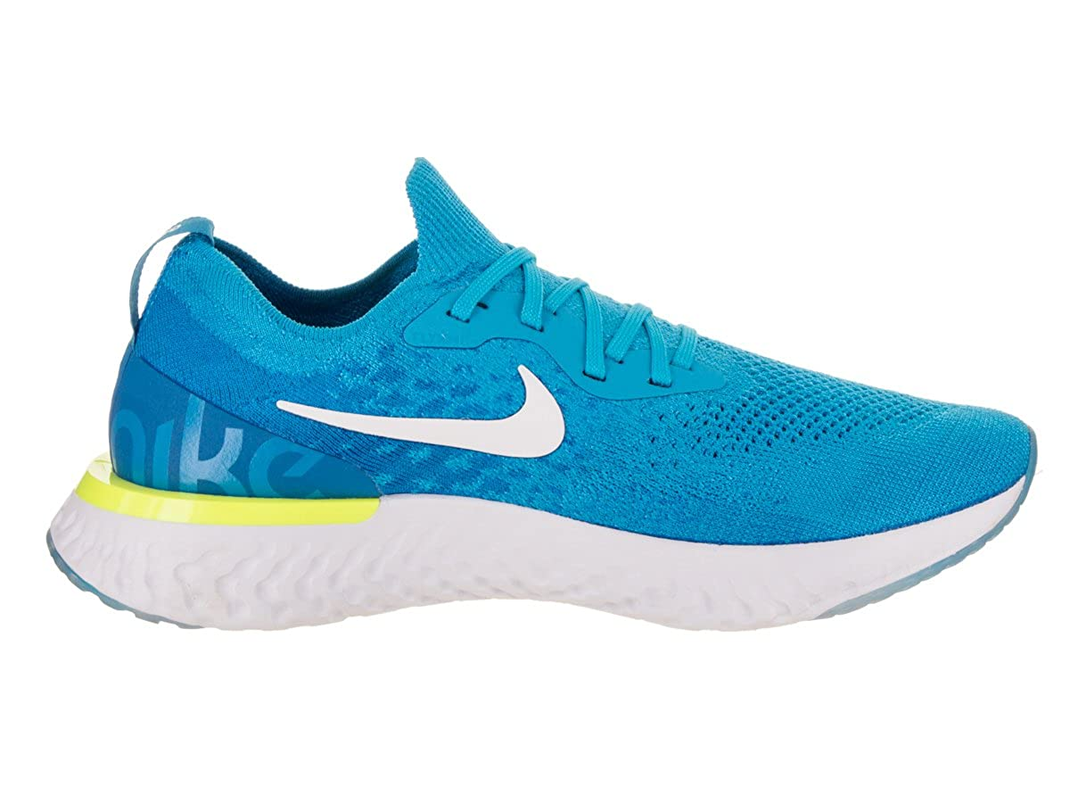 83afe9d7601fe Nike Men s Epic React Flyknit Running Shoes  Amazon.co.uk  Shoes   Bags