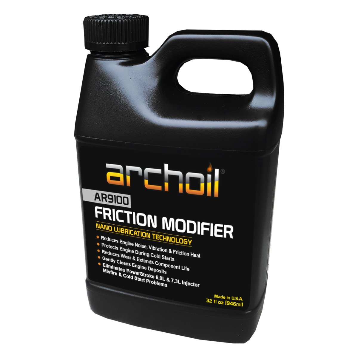 Ar9100 (32 Oz) Friction Modifier - Treats up to 32 Quarts of Engine Oil - Stiction Solution