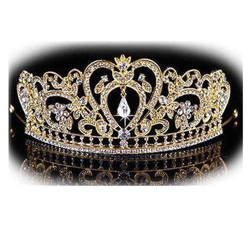 Nupcial de la Boda de Deja Perlas Dama de Honor Accesorios Dama de Honor Cabello Tiara de Flores Cor...