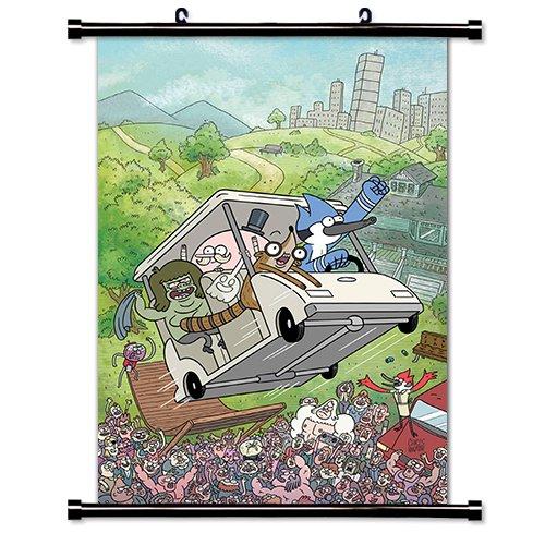 The Regular TV Show Cartoon Network Fabric Wall Scroll Poster (32