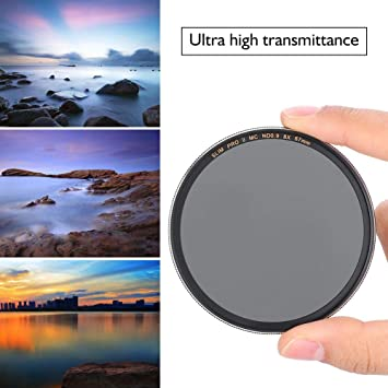 Gift for Photographer Youth Adults Shutterbug ND Filter Neutral Density Filter Optical Glass ND1000 Camera Lens Filter for Pocket Camera Lens