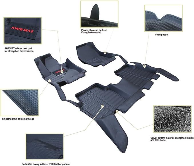 Coverking Custom Fit Front and Rear Floor Mats for Select Alfa Romeo Alfetta Models Nylon Carpet CFMBX1AR9202 Black