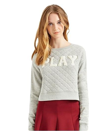 Amazon.com: Aeropostale Womens Play Quilted Sweatshirt: Clothing : quilted sweatshirt - Adamdwight.com