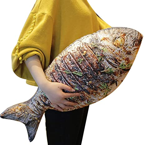 Creativa almohada con forma de pez diversión creativa ...