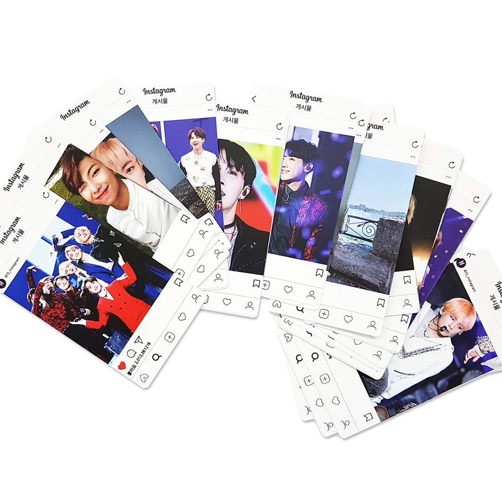Amazon com : BTS Bangtan Boys Instagram Photo Card 44sheets