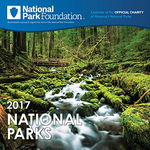 2017 National Park Foundation Wall Calendar
