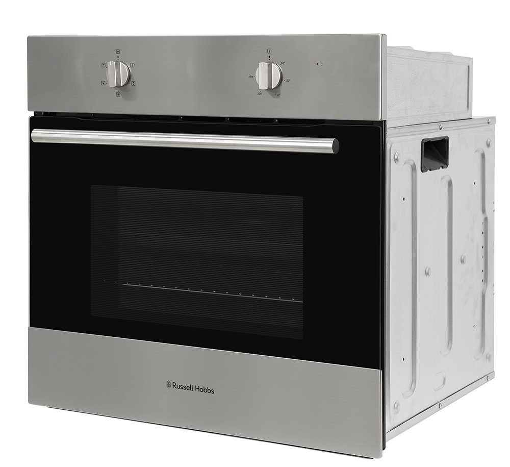 Russell Hobbs Built-In 65L Stainless steel Electric Fan Oven, RHFEO6502SS