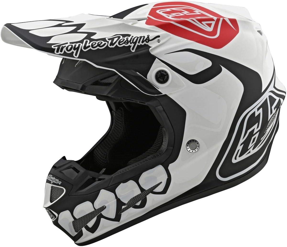 Black//White Skully LE Medium Troy Lee Designs 2019 GP Jersey