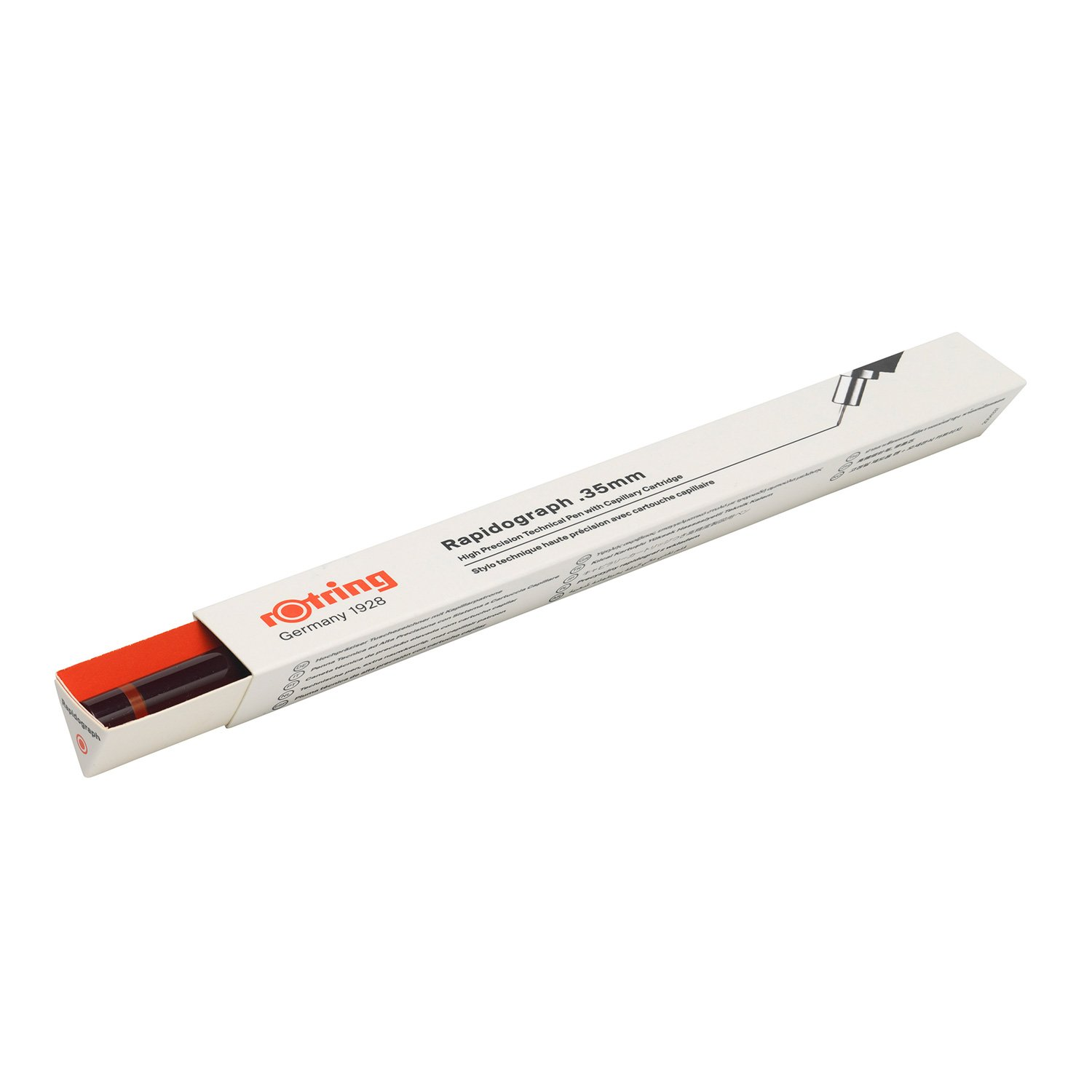 Rotring Rapidograph 0.35mm Technical Drawing Pen (S0194290) by Rotring (Image #6)