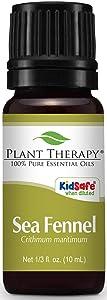 Plant Therapy Sea Fennel Essential Oil 10 mL (1/3 oz) 100% Pure, Undiluted, Therapeutic Grade