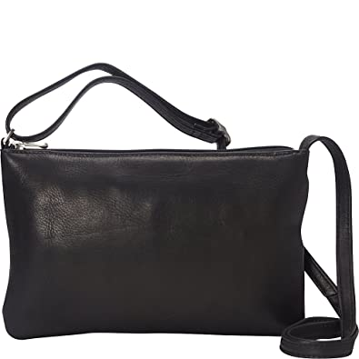 Le Donne Leather Apricot Crossbody (Black)  Handbags  Amazon.com 8c2b04abed44d