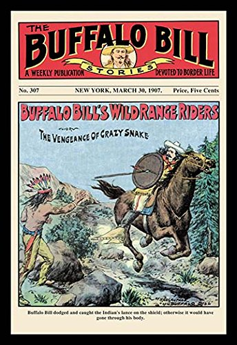 Buyenlarge The Buffalo Bill Stories: Buffalo Bill's Wild Range Riders - Gallery Wrapped 28