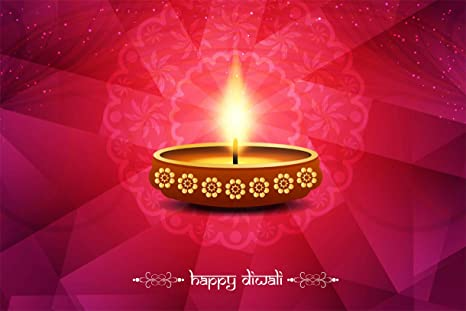 Indus Homes Unframed Beautiful Happy Diwali Posters Wall Posters