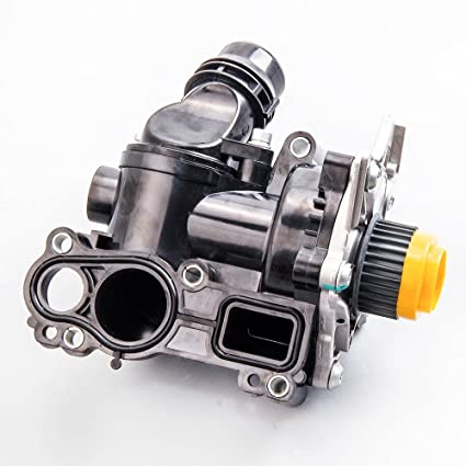 maXpeedingrods Water Pump Thermostat Assembly for VW Audio A4 A5 Quattro Golf Jetta GTI 06H121026T 06H121026AB