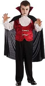 EL REY DEL CARNAVAL, SL Disfraz de Vampiro Edward para niño A-(3/5 ...