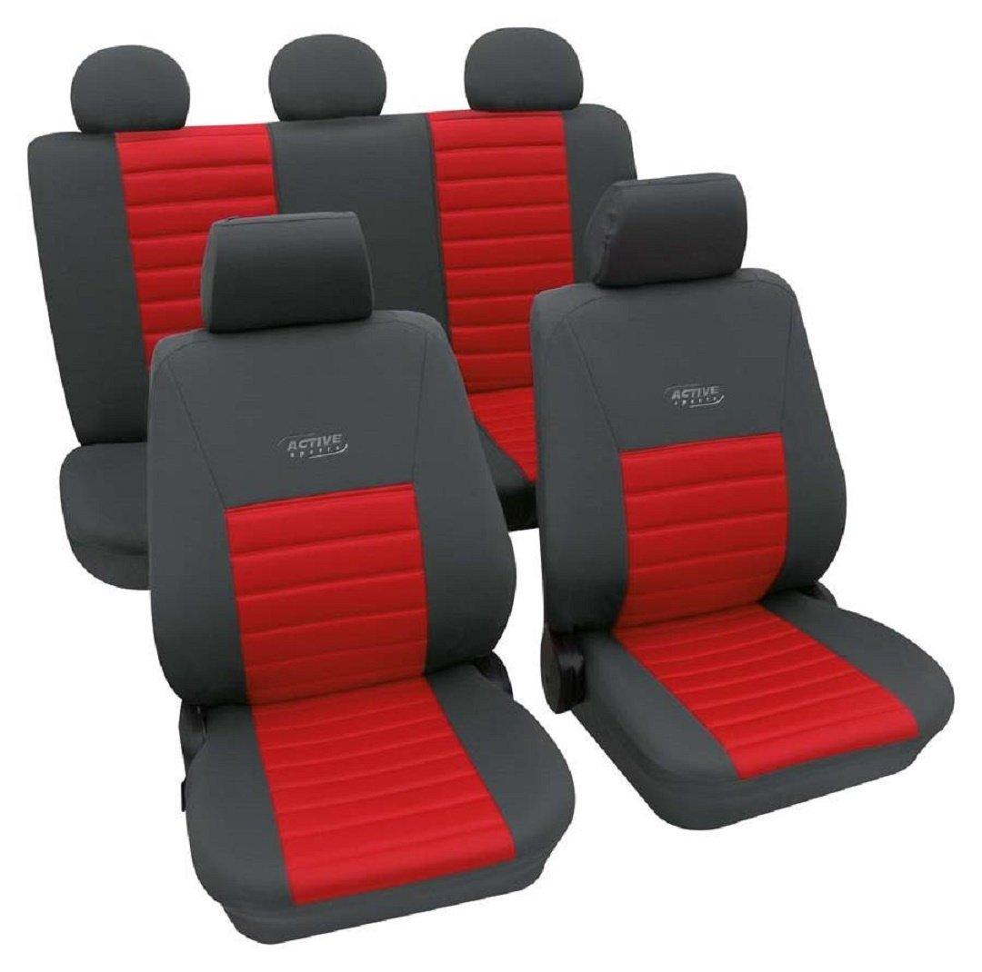 Activ Sports rot 3584 Schonbezug Sitzbezug Autoschonbezug Schonbez/üge f/ür die unten angegebenen Fahrzeuge
