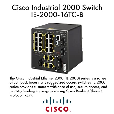 Cisco Industrial Ethernet 2000 Series - Switch: Amazon in: Electronics