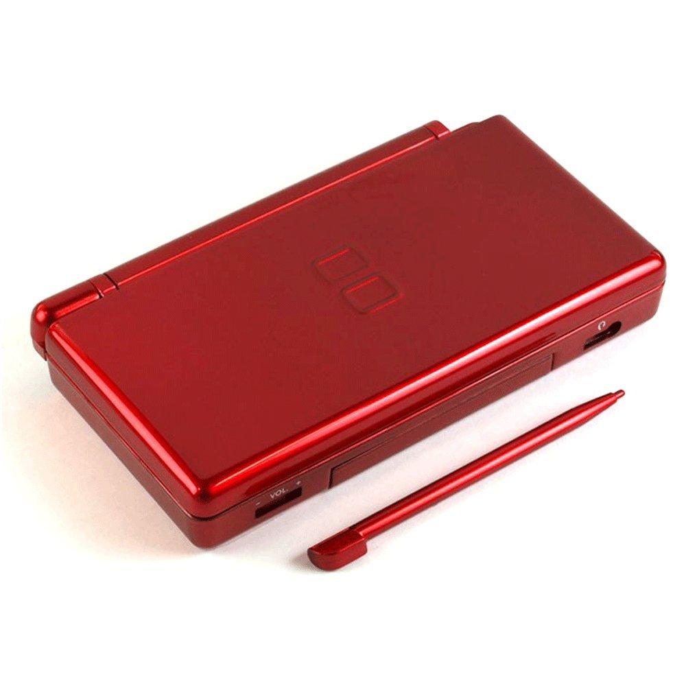 Assafe - Kit de reparación de carcasa metálica roja para DS ...