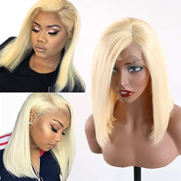Hair Extensions & Wigs 613 Honey Blonde Lace Front Wig Pre Plucked With Baby Hair Transparent 613 Glueless Lace Front Wig For Black Women Remy Hair Human Hair Weaves