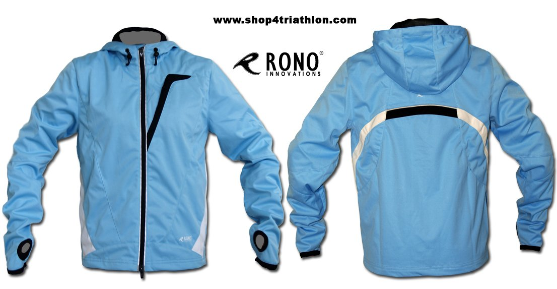 Rono Softshell Jacket HBS - Windstopper Laufjacke (wasserdicht)
