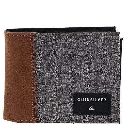 Quiksilver Men's Freshness Plus 4 Wallet, Light Grey Heather, M
