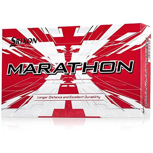 Srixon Marathon 2017 White Golf Balls (Pack of 15)