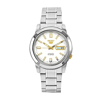 SEIKO SNKK07K1 - Reloj de Caballero movimiento automático con brazalete metálico: Seiko: Amazon.es: Relojes