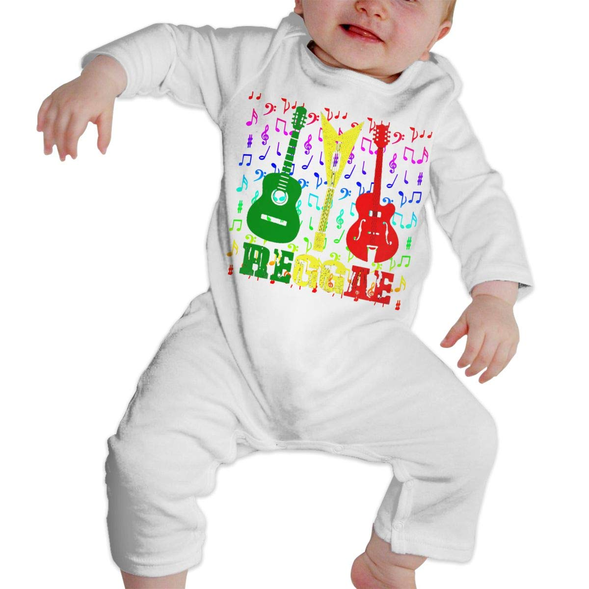 NFtrend Unisex Baby Long Sleeved Rompers Soft Toddler Jumpsuit