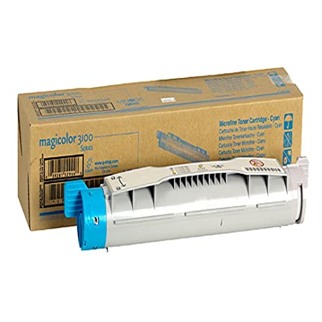 amazon com konica minolta magicolor 3100 cyan original toner 6 000 rh amazon com HP Printer Manuals PDF Printer Service Manual