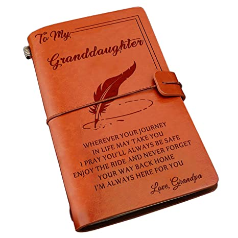 Amazon Com Personalized Leather Journal Genuine Leather