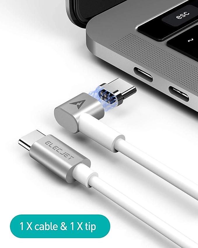 Amazon.com: ELECJET MagJet Cable de carga USB C PD magnético ...