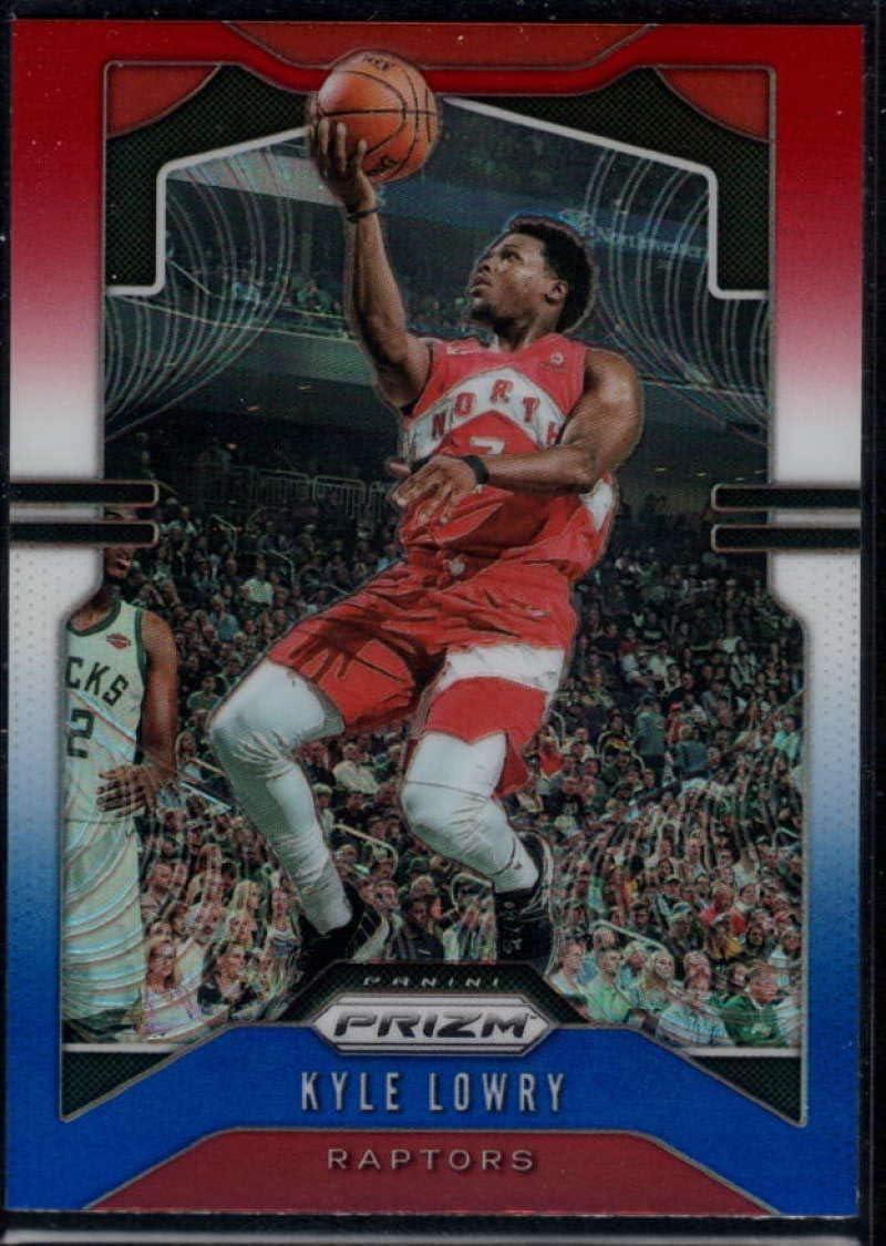 2019-20 Panini Prizm Hyper #155 Kyle Lowry Toronto Raptors Baloncesto Tarjeta