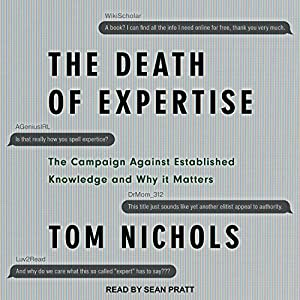 The Death of Expertise Audiobook