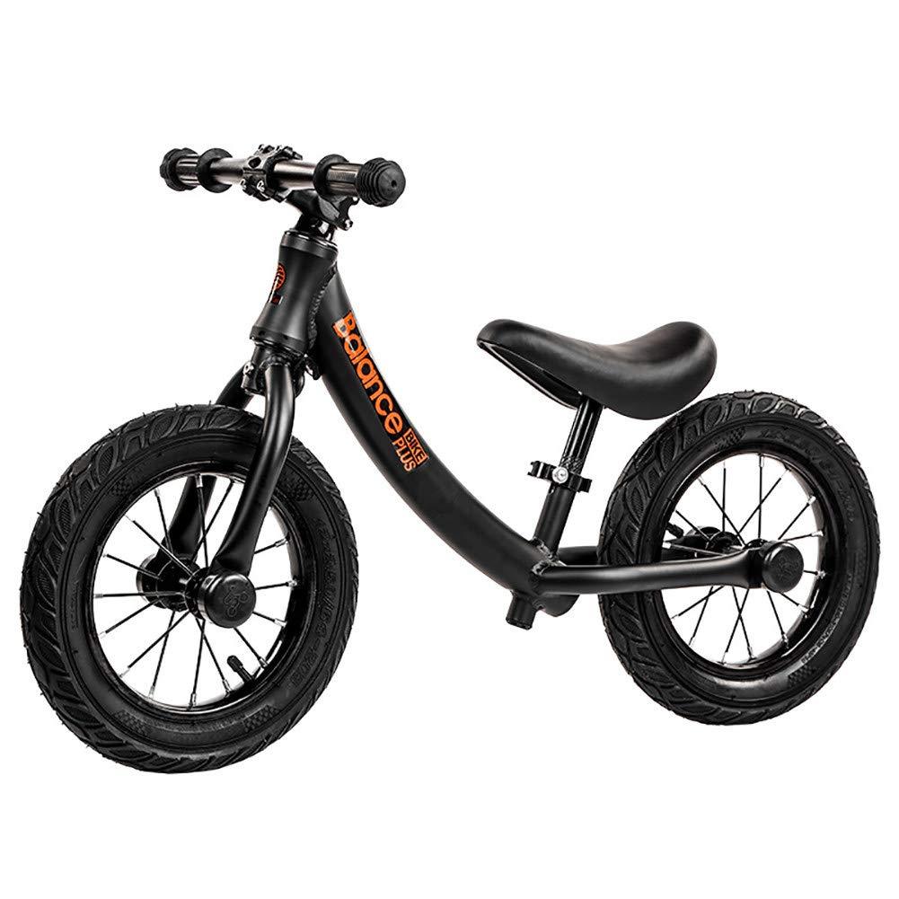 mejor servicio negro CHEERALL Bicicleta Bicicleta Bicicleta de Equilibrio para niños de 2,3,4,5,6 años, Bicicleta de Equilibrio para niños Niñas No pedalear Correr Caminar para niños con Asiento Ajustable,negro  precios ultra bajos