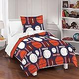 Dream Factory All Sports Comforter Set, Full/Queen, Navy
