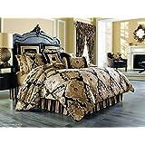 bradshaw black comforter set king by j queen new york