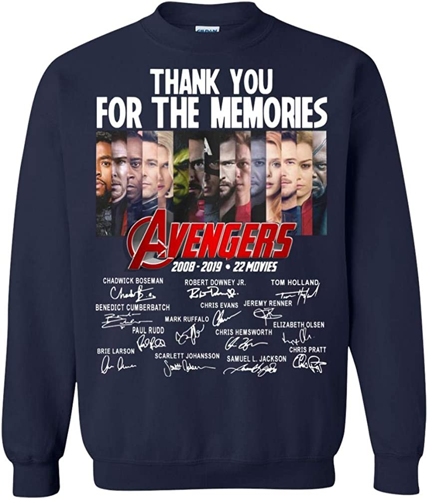 Thank You For The Memories S 2008 2019 Signature 1863 Shirts