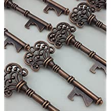Antique Skeleton Key Shaped Bottle Opener Wedding Favor Rustic Decoration Bestman Groomsman Party Gift, 1 Piece
