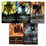 Cassandra Clare Set 5 Books Collection Mortal Instruments Series